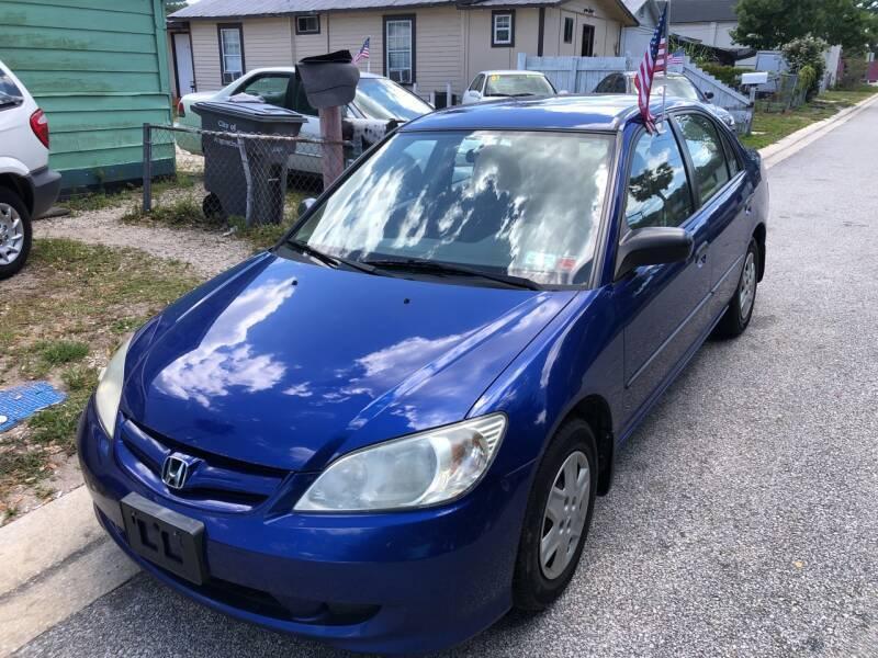 2004 Honda Civic for sale at Castagna Auto Sales LLC in Saint Augustine FL