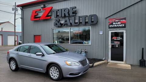 2013 Chrysler 200 for sale at EZ Tire & Auto in North Tonawanda NY