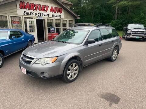 2009 Subaru Outback for sale at Hartley Auto Sales & Service in Milton VT