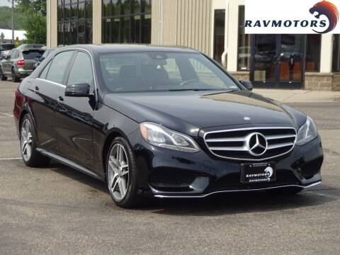 2016 Mercedes-Benz E-Class for sale at RAVMOTORS 2 in Crystal MN