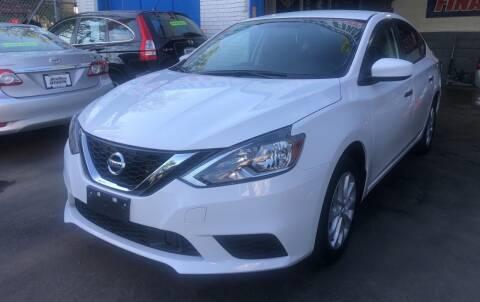 2018 Nissan Sentra for sale at DEALS ON WHEELS in Newark NJ