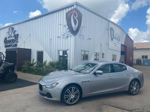 2015 Maserati Ghibli for sale at Barrett Auto Gallery in San Juan TX