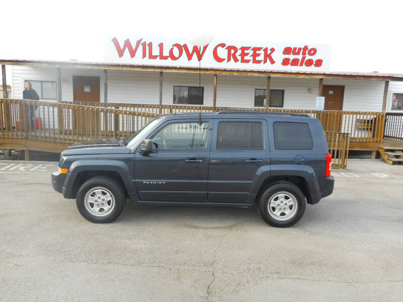 2015 Jeep Patriot for sale at Willow Creek Auto Sales in Knoxville TN
