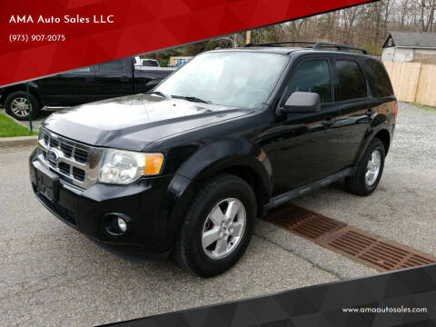 2010 Ford Escape for sale at AMA Auto Sales LLC in Ringwood NJ