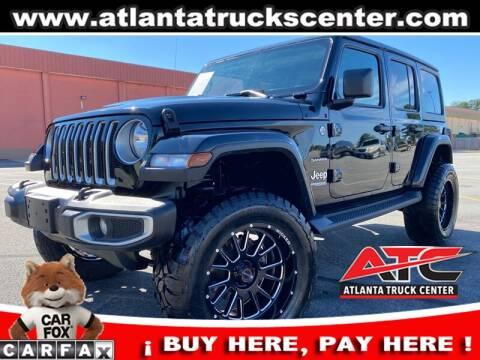2019 Jeep Wrangler Unlimited for sale at ATLANTA TRUCK CENTER LLC in Brookhaven GA