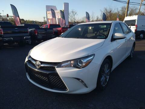 2015 Toyota Camry for sale at P J McCafferty Inc in Langhorne PA