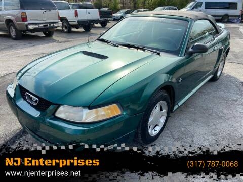 2000 Ford Mustang for sale at NJ Enterprises in Indianapolis IN
