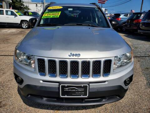 2012 Jeep Compass for sale at Cape Cod Cars & Trucks in Hyannis MA