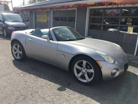 2008 Pontiac Solstice for sale at Antique Motors in Plymouth IN