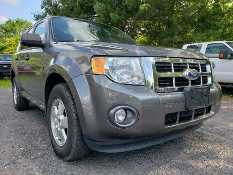 2011 Ford Escape for sale at Jacob's Auto Sales Inc in West Bridgewater MA