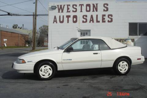 1991 Chevrolet Cavalier for sale at Weston's Auto Sales, Inc in Crewe VA