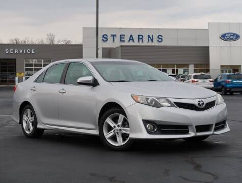 2014 Toyota Camry for sale at Stearns Ford in Burlington NC