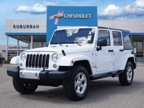 2015 Jeep Wrangler Unlimited for sale at Suburban Chevrolet of Ann Arbor in Ann Arbor MI