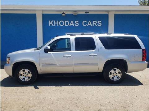 2014 Chevrolet Suburban for sale at Khodas Cars in Gilroy CA