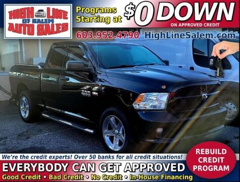 2014 RAM Ram Pickup 1500 for sale at High Line Auto Sales of Salem in Salem NH