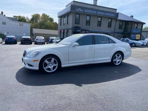 2008 Mercedes-Benz S-Class for sale at Sisson Pre-Owned in Uniontown PA