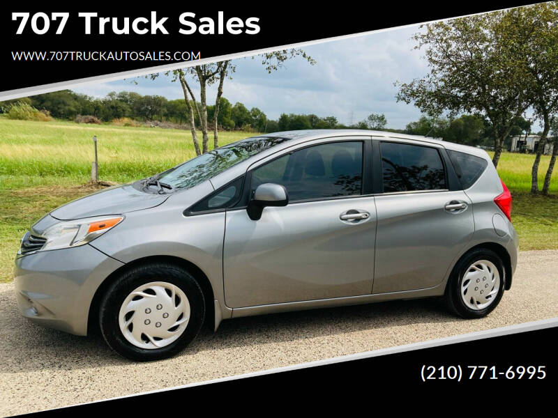 2014 Nissan Versa Note for sale at 707 Truck Sales in San Antonio TX