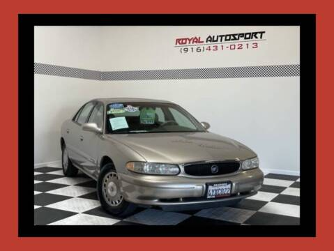 2002 Buick Century for sale at Royal AutoSport in Sacramento CA