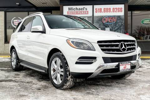 2014 Mercedes-Benz M-Class for sale at Michaels Auto Plaza in East Greenbush NY