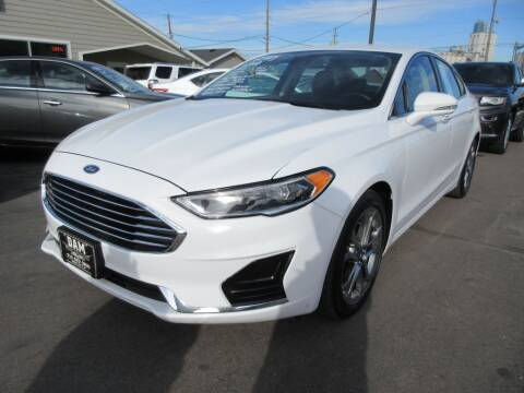 2019 Ford Fusion for sale at Dam Auto Sales in Sioux City IA