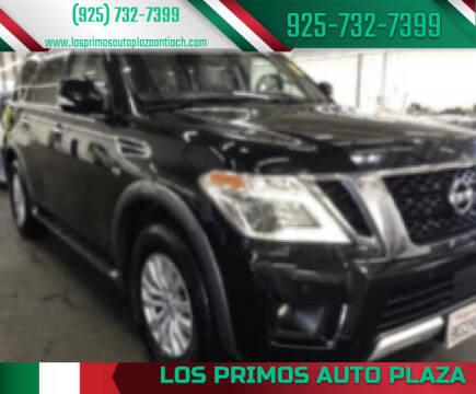 2017 Nissan Armada for sale at Los Primos Auto Plaza in Antioch CA