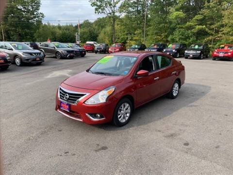 2018 Nissan Versa for sale at North Berwick Auto Center in Berwick ME