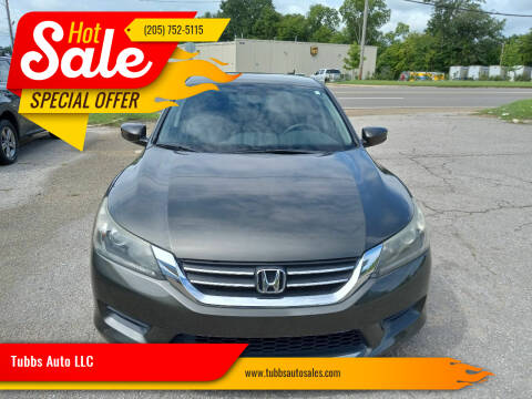 2015 Honda Accord for sale at Tubbs Auto LLC in Tuscaloosa AL