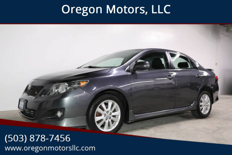 2010 Toyota Corolla for sale at Oregon Motors, LLC in Portland OR