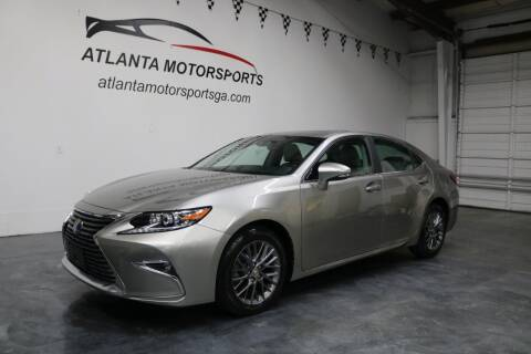 2018 Lexus ES 350 for sale at Atlanta Motorsports in Roswell GA