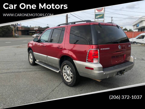 2003 Mercury Mountaineer for sale at Car One Motors in Seattle WA