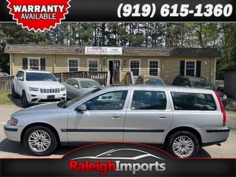 2004 Volvo V70 for sale at Raleigh Imports in Raleigh NC