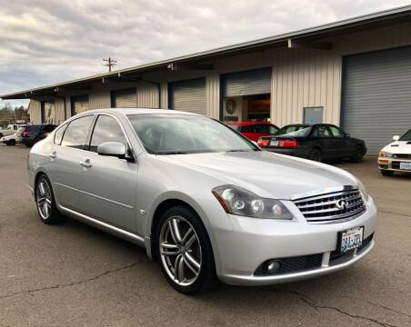 2007 Infiniti M35 for sale at DASH AUTO SALES LLC in Salem OR
