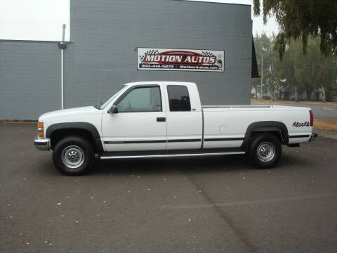 1997 Chevrolet C/K 2500 Series for sale at Motion Autos in Longview WA