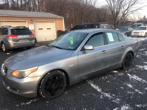 2007 BMW 5 Series for sale at YASSE'S AUTO SALES in Steelton PA