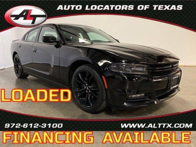 2018 Dodge Charger for sale at AUTO LOCATORS OF TEXAS in Plano TX