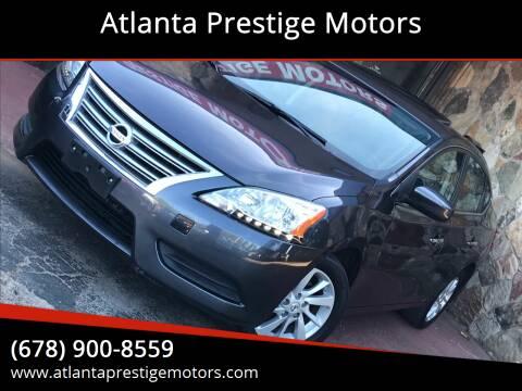 2015 Nissan Sentra for sale at Atlanta Prestige Motors in Decatur GA