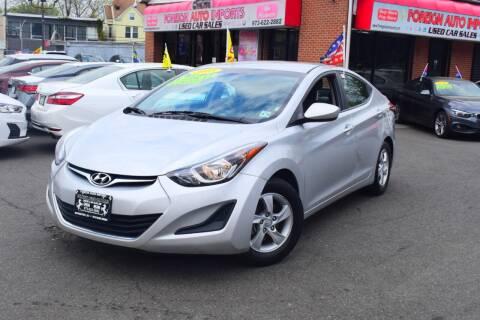 2015 Hyundai Elantra for sale at Foreign Auto Imports in Irvington NJ