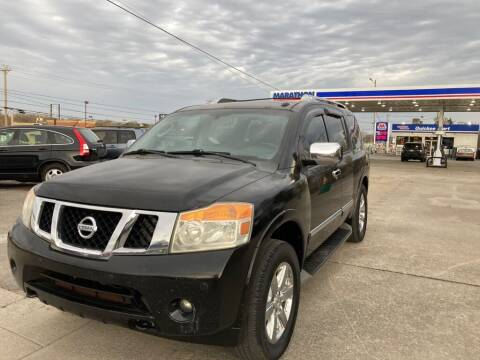 2012 Nissan Armada for sale at 1A Auto Mart Inc in Smyrna TN