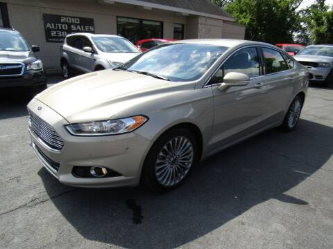 2015 Ford Fusion for sale at 2010 Auto Sales in Troy NY
