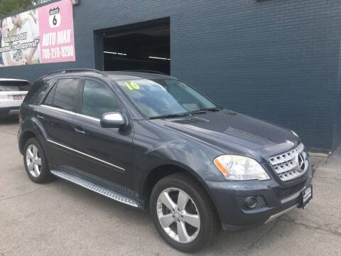 2010 Mercedes-Benz M-Class for sale at ROUTE 6 AUTOMAX in Markham IL