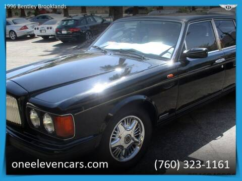 1996 Bentley Brooklands for sale at One Eleven Vintage Cars in Palm Springs CA