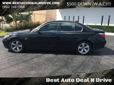 2006 BMW 5 Series for sale at Best Auto Deal N Drive in Hollywood FL