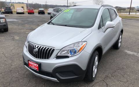 2015 Buick Encore for sale at Carmans Used Cars & Trucks in Jackson OH