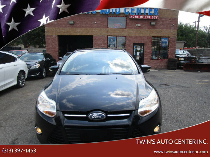 2012 Ford Focus for sale at Twin's Auto Center Inc. in Detroit MI