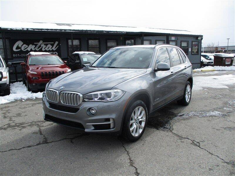 2016 BMW X5 for sale at Central Auto in South Salt Lake UT