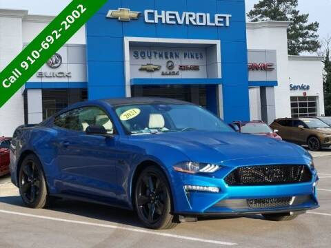 2021 Ford Mustang for sale at PHIL SMITH AUTOMOTIVE GROUP - SOUTHERN PINES GM in Southern Pines NC