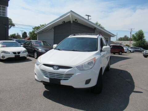 2012 Hyundai Tucson for sale at Crown Auto in South Salt Lake UT