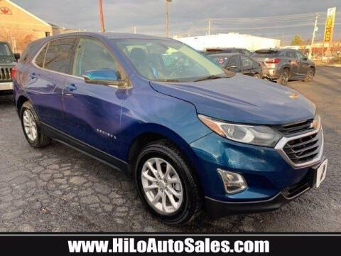 2019 Chevrolet Equinox for sale at Hi-Lo Auto Sales in Frederick MD