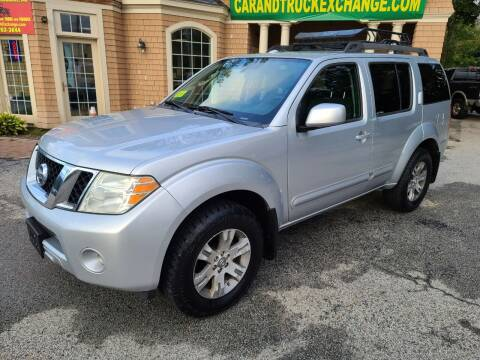 2010 Nissan Pathfinder for sale at Car and Truck Exchange, Inc. in Rowley MA