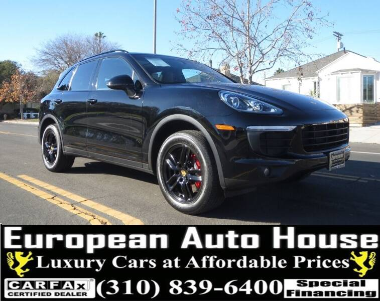 2018 Porsche Cayenne for sale at European Auto House in Los Angeles CA